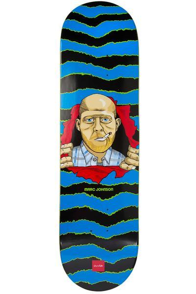 "Chocolate Johnson MJ Ripper One Offs 8.125"" Deck (blue)"