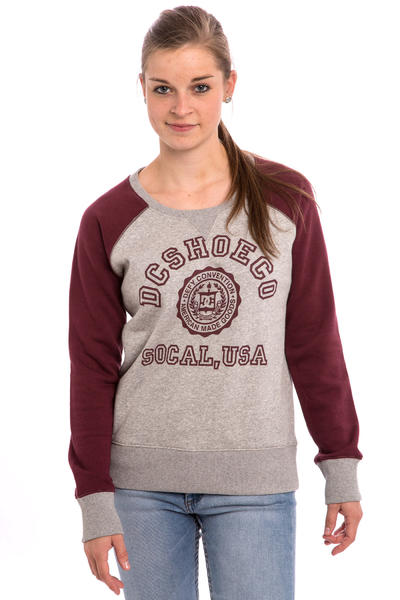 DC Triple C Raglan Longsleeve women (heather grey)