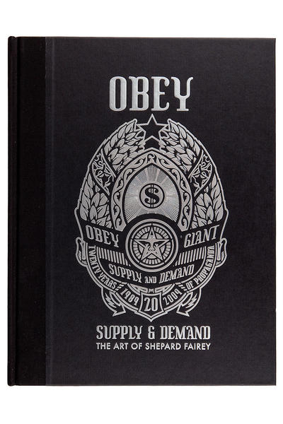 Obey Supply And Demand Book (assorted)