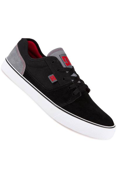 DC Tonik Suede Shoe (black grey red)