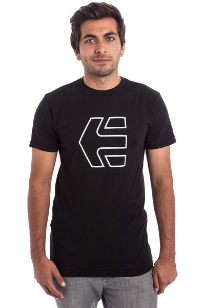 Etnies Icon Outline T-Shirt (black white)