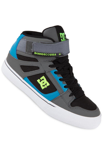 DC Spartan High EV Shoe kids (black armor tuquoise)