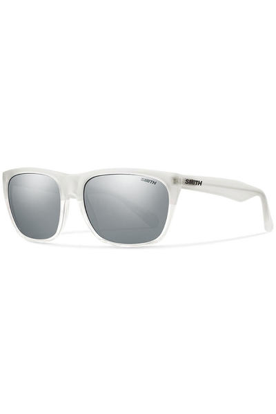 Smith Tioga Sunglasses (matte shy crystal platinum silve)