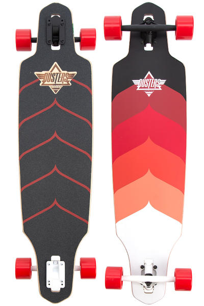"Dusters Wake 38"" (96,5cm) Komplett-Longboard (kryptonic red)"