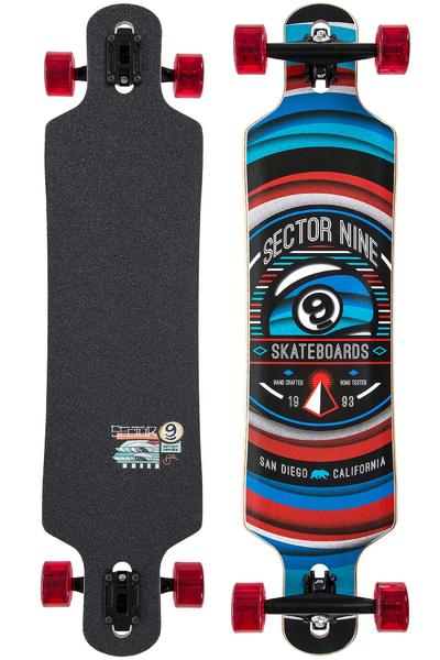 "Sector 9 Meridian 40"" (101,8cm) Complete-Longboard (red)"
