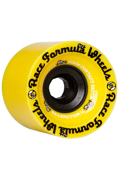 Sector 9 Race Formula 71mm 78A OS Rollen (yellow) 4er Pack