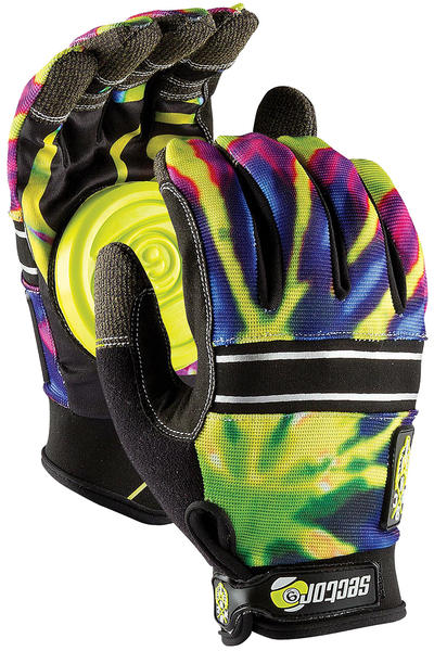 Sector 9 BHNC Slide Gloves (lime burst)
