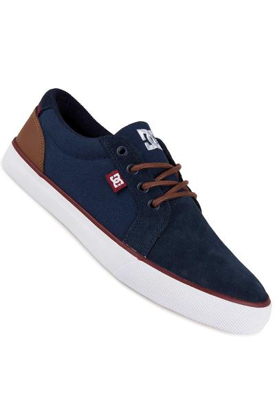 DC Council SD Suede Shoe (navy camel)