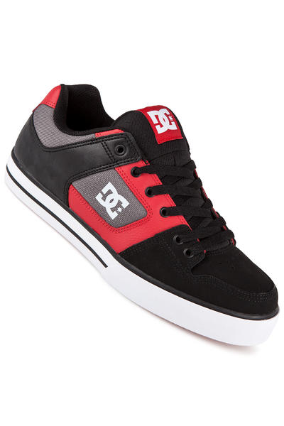 DC Pure Leather Schuh (black athletic red)