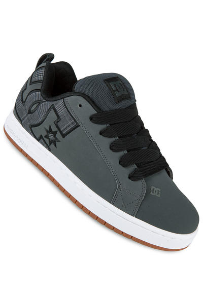 DC Court Graffik SE Leather Shoe (grey black)