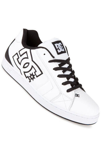 DC Net Leather Shoe (white black basic)