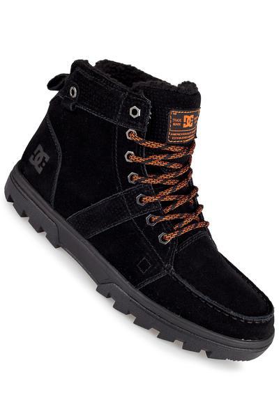 DC Woodland Suede Schuh (black orange)