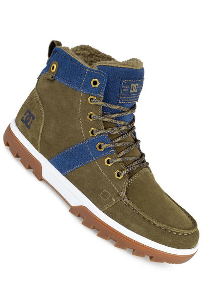 DC Woodland Suede Shoe (military)