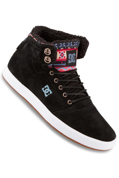 DC Crisis High WNT Suede Schuh (black multi)