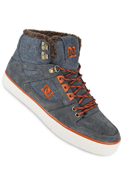 DC Spartan High WC WNT Schuh (grey dark red)