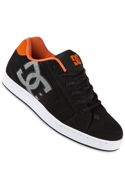 DC Net Leather Shoe (black orange)