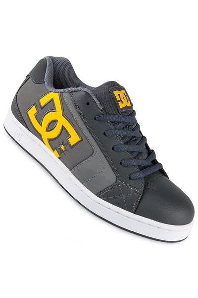 DC Net Leather Shoe (grey yellow)