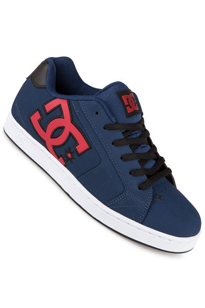 DC Net Leather Shoe (navy red)