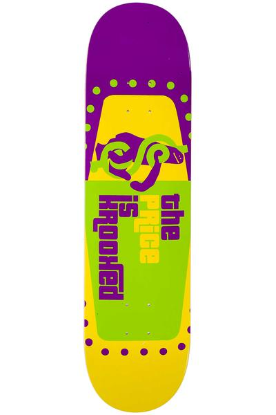 "Krooked The Price Is Krooked 8"" Deck (purple yellow)"