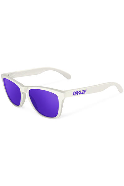Oakley Frogskin Heritage Sunglasses (white violet iridium)