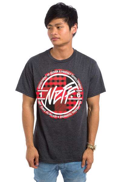 Neff Stamp T-Shirt (charcoal heather)