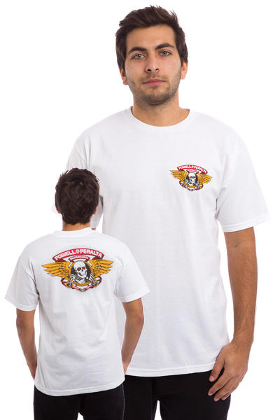 Powell-Peralta Winged Ripper T-Shirt (white)