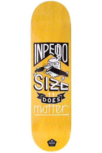 "Inpeddo Size Matters 8.375"" Deck (yellow)"