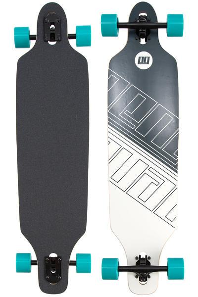 "Peng Mirror 38.5"" (98cm) Complete-Longboard (black white)"