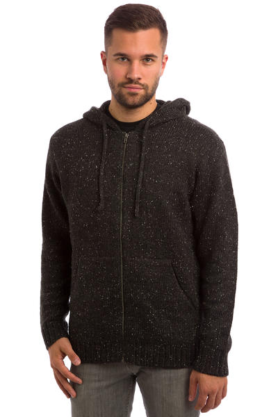 RVCA All Nighter Zip-Hoodie (charcoal heather)