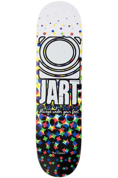"Jart Skateboards Mini Size 7.25"" Deck (white black)"