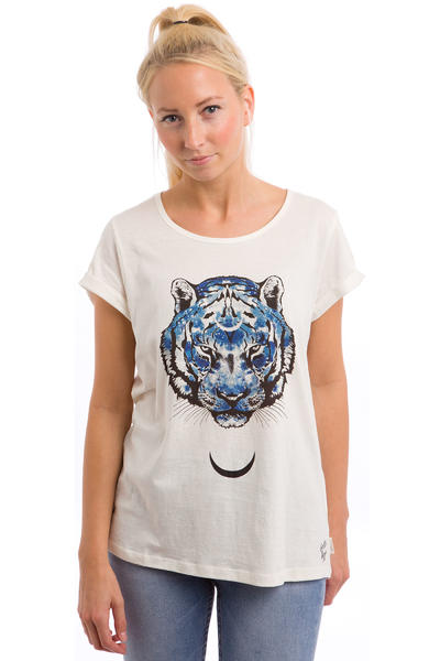 Element Galaxy Tiger T-Shirt women (ivory)