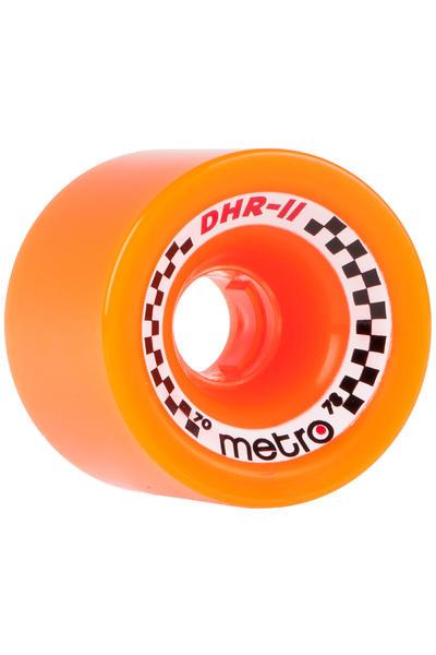 Metro Wheels DHR-II 70mm 78A Rollen (orange) 4er Pack