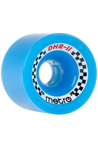 Metro Wheels DHR-II 70mm 78A Rollen (blue) 4er Pack