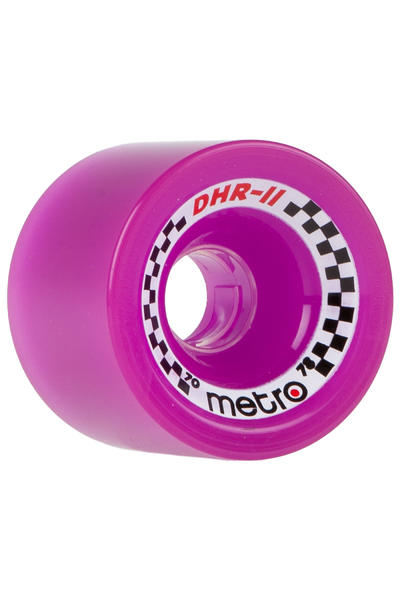 Metro Wheels DHR-II 70mm 78A Rollen (purple) 4er Pack