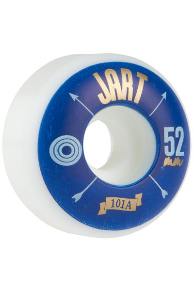 Jart Skateboards Arrow 52mm Rollen (white blue) 4er Pack