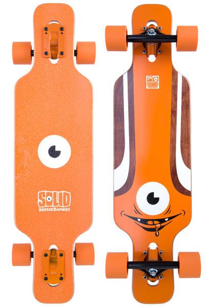 """Solid Eye 31.5"""" (80cm) Komplett-Longboard (orange)"""
