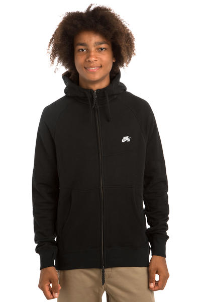 Nike SB Everett Graphic Zip-Hoodie (black white)