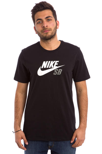 Nike SB Dri-FIT Icon Logo T-Shirt (black)