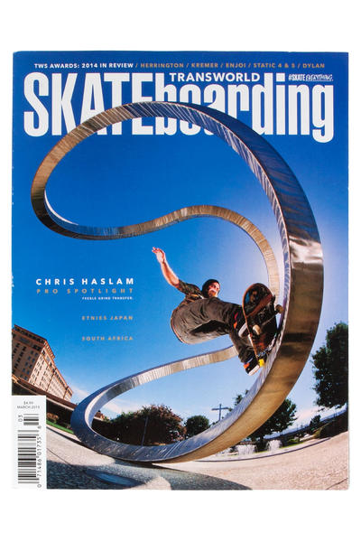 Transworld März 2015 Revista