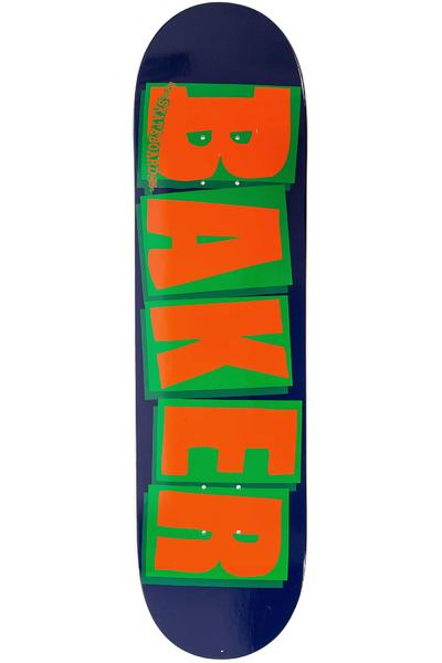 "Baker Brand Logo 8.25"" Deck (navy orange)"