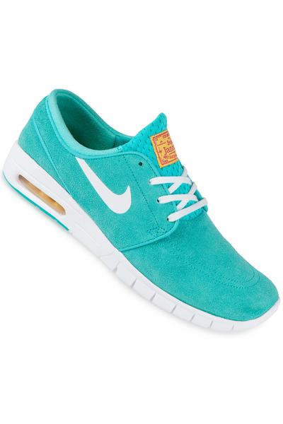 Nike SB Stefan Janoski Max Suede Shoe (hyper jade white)