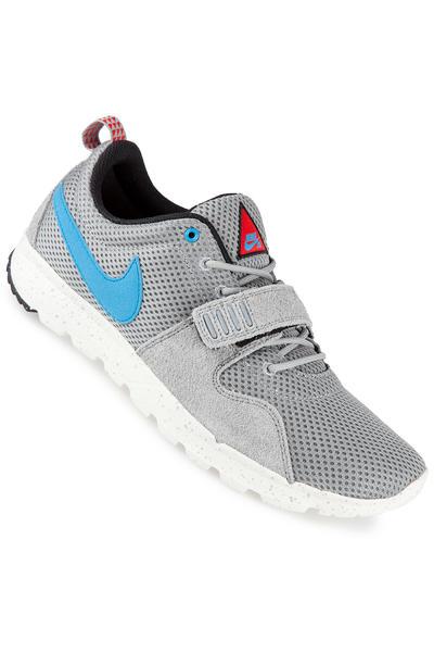 Nike SB Trainerendor Shoe (base grey vivid blue)
