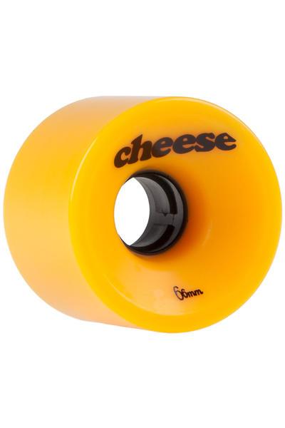 Cheese Gouda 66mm 78A Wheel (yellow) 4 Pack
