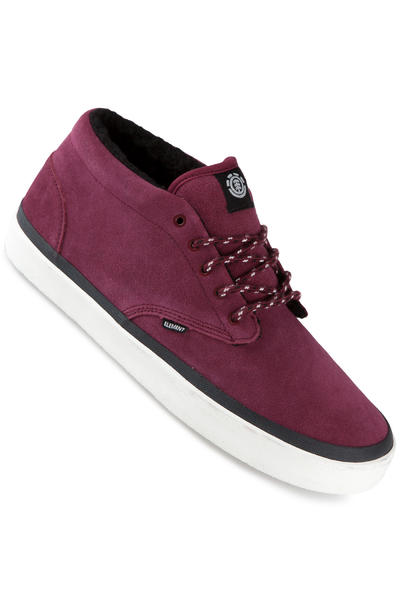 Element Preston Suede Schuh (wine)
