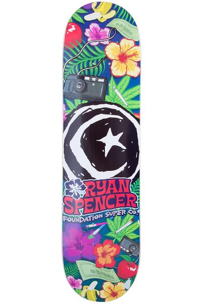"Foundation Spencer Hawaiian Star & Moon 8.25"" Deck (multi)"