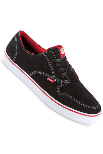 Element Topaz C3 Suede Schuh (black red)