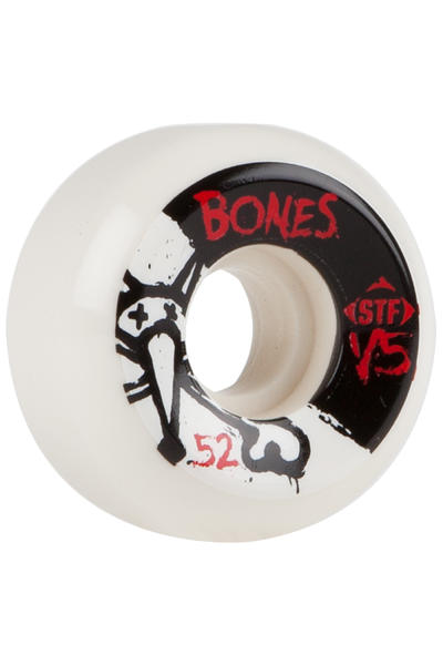 Bones STF-V5 Series II 52mm Rollen (white) 4er Pack