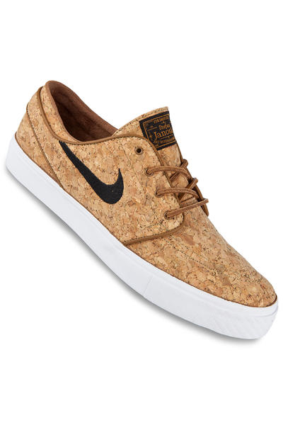 Nike SB Zoom Stefan Janoski Elite Cork Shoe (ale brown black)