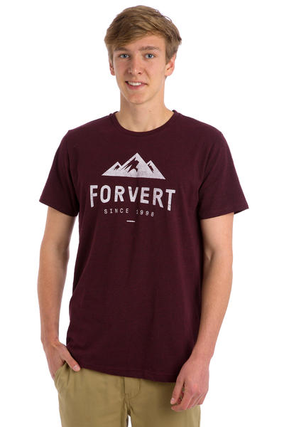 Forvert Logan T-Shirt (dark red heather)