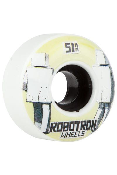 Robotron Photocopy 51mm Wheel (white) 4 Pack